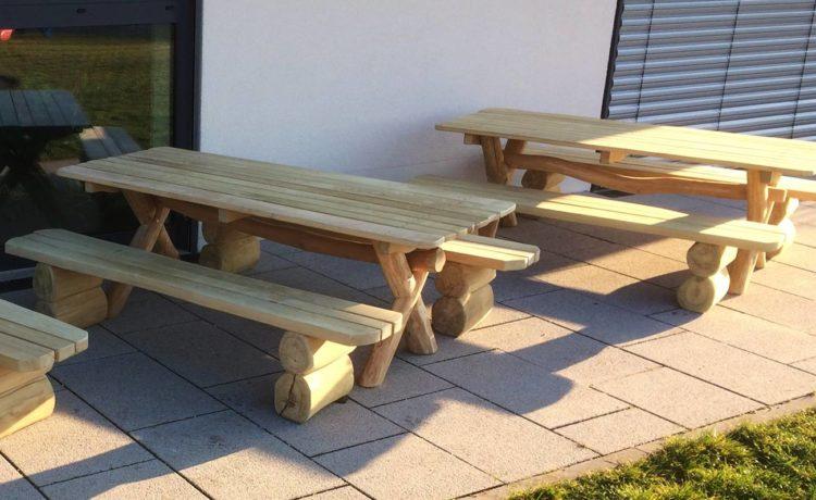 Tisch- Bankkombination